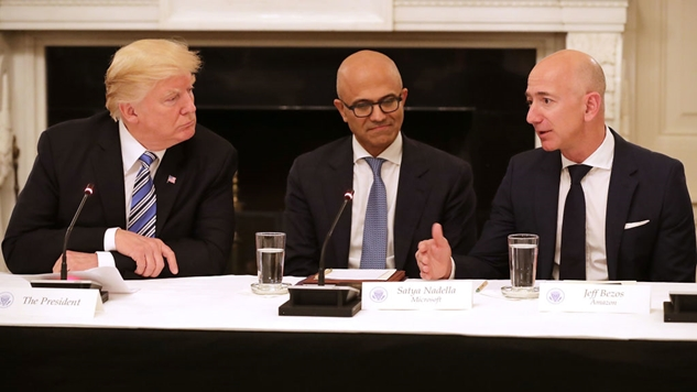"Good News: Trump is Reportedly ""Obsessed"" With Going After Amazon"