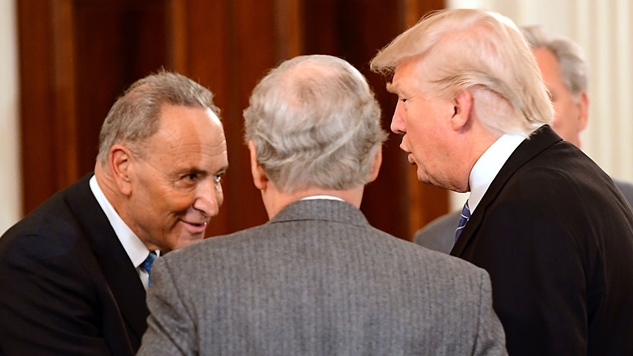 Meet Trump's 15 New Judges (Passed With the Unanimous Aid of Chuck Schumer and Senate Democrats)