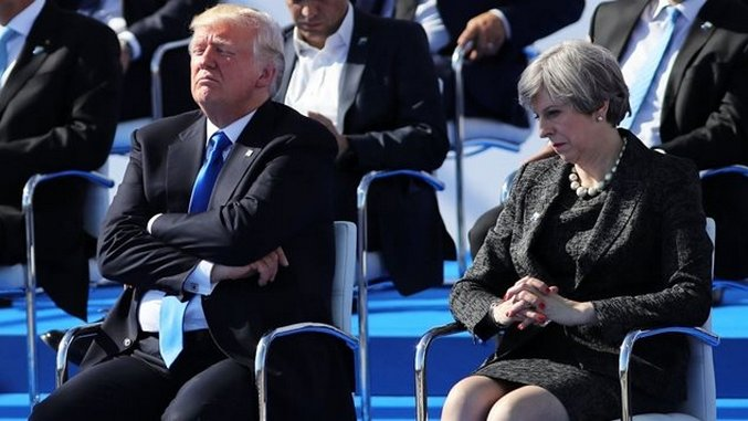 The 8 Most Embarrassing Moments from Trump's *ONE DAY* at NATO