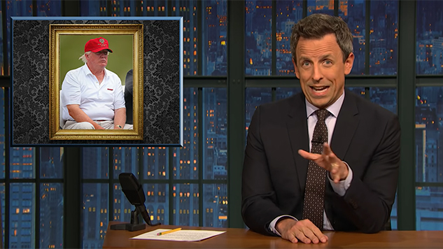 Seth Meyers Tackles Trump's 53-Minute <i>Fox & Friends</i> Call