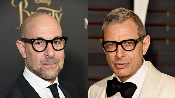 Who Else Thinks a Rom-Com with Stanley Tucci and Jeff Goldblum Sounds Amazing?