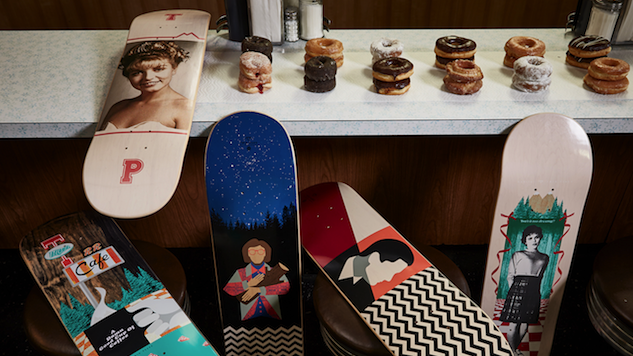 Check Out Habitat's Damn Good <i>Twin Peaks</i> Skateboards, T-Shirts, More