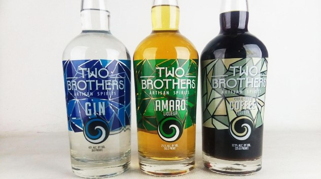 Tasting Three Spirits From Two Brothers Brewing Co. (Gin, Amaro, Coffee Liqueur)