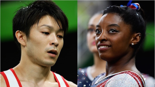 Who Is the World's Best Gymnast?