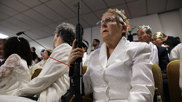 Meet the Pennsylvania Churchgoers Who Worship With AR-15s