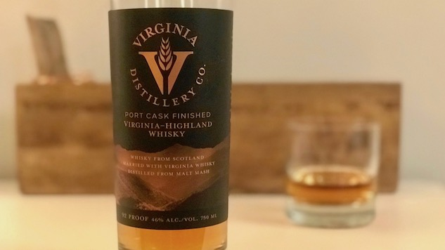 Virginia Distillery's Virginia-Highland Whisky Review
