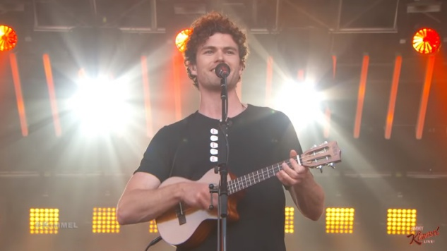 "Vance Joy Brightens the <i>Jimmy Kimmel</i> Stage with ""Saturday Sun"" and Other Favorites"