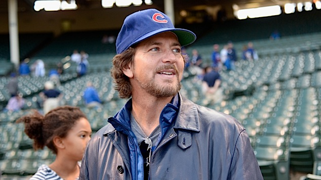 "Watch Eddie Vedder Play ""Corduroy"" Outside Wrigley Field With Some Random Buskers"