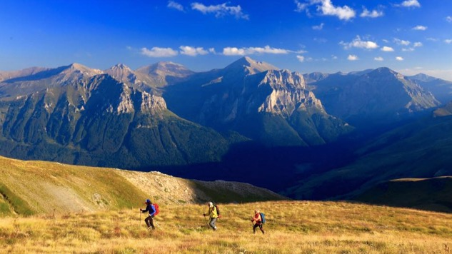 The Western Balkans' Via Dinarica Mega-Hiking Trail