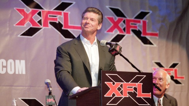 Yes, Vince McMahon Is Actually Bringing Back the XFL