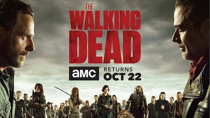 <i>The Walking Dead</i> Season Eight Premiere Date Announced, Key Art Revealed