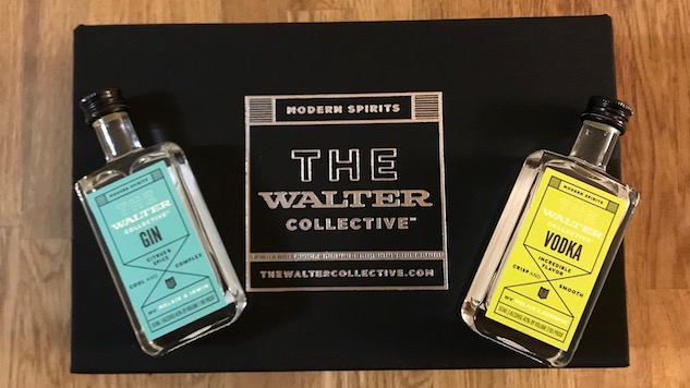The Walter Collective Gin and Vodka