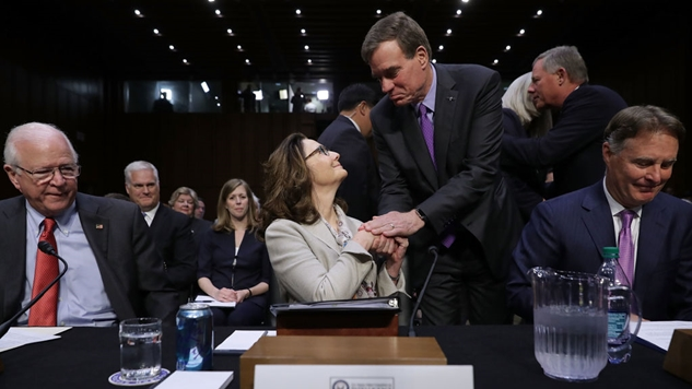 Two Senate Democrats assure Haspel's confirmation as Central Intelligence Agency director