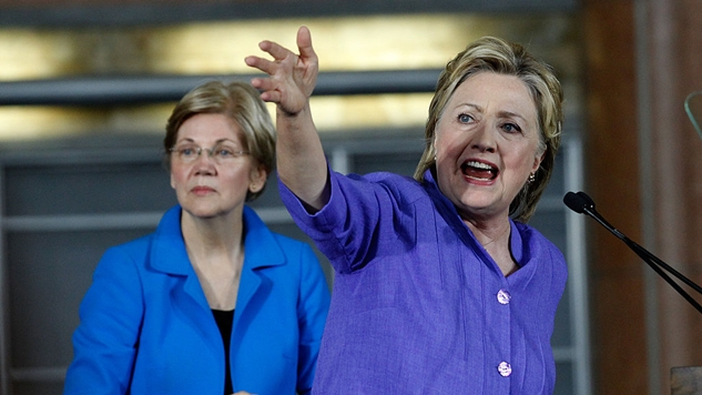 Elizabeth Warren Said That the Democrats Tried to Rig the 2016 Primary for Hillary Clinton