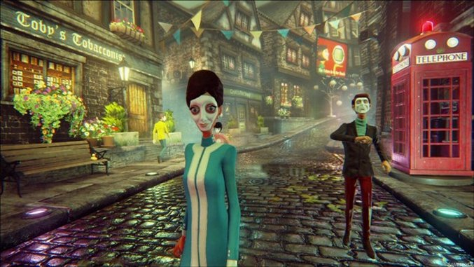 <i>We Happy Few</i> is a Strange Alliance of Genres and Game Design Conceptions