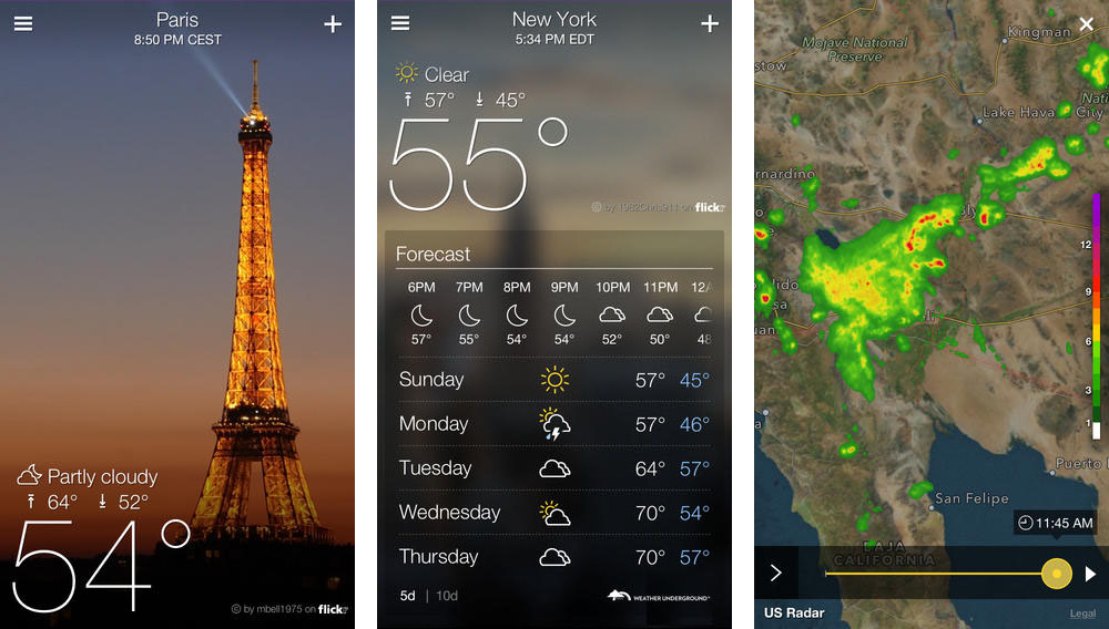 The Best Weather Apps for iOS and Android :: Tech :: Apps :: Paste