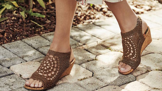 Chic Wedges that are A OK for Beach and Farm Weddings