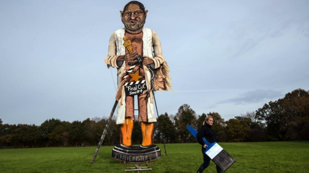 36-Foot Harvey Weinstein Effigy to Be Burned in England