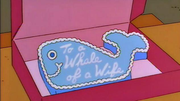 Cooking <i>The Simpsons</i>: Whale of a Wife Cake