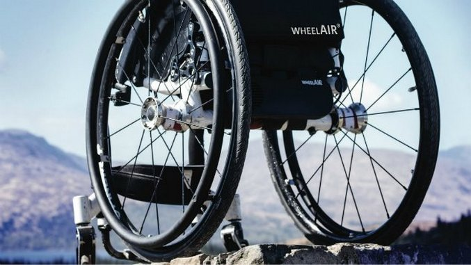 WheelAir Is a Revolutionary Cooling Cushion That Could Vastly Increase Comfort for Wheelchair Users