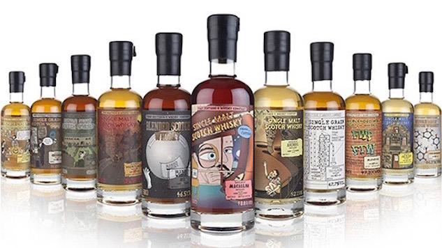 12 Comical Whisky Labels