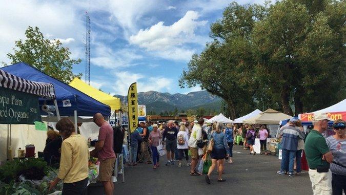 Farmers' Market Fetish: Whitefish, Montana