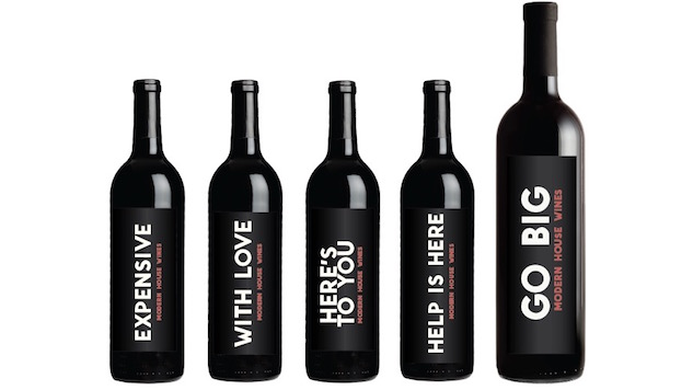 16 Kickass Wine Labels