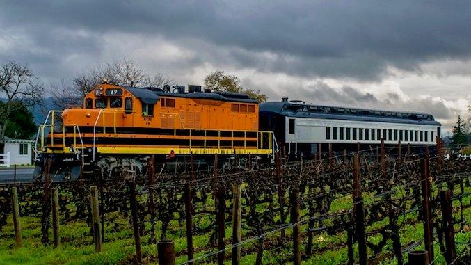 Inside the Napa Valley Wine Train