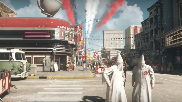 The Nazi-Ruled America of <i>Wolfenstein II</i> Isn't That Different from Our Real History