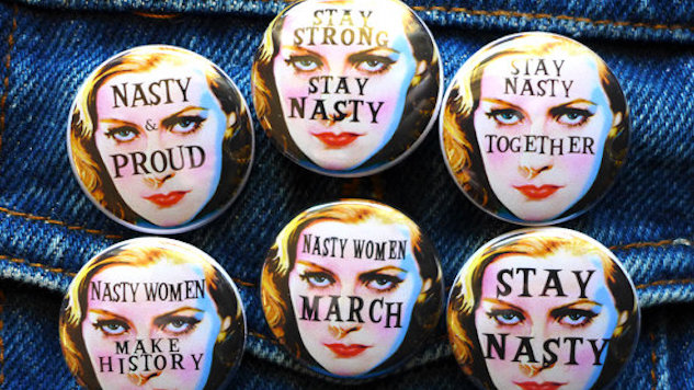 Show Your Support for the Women's March with These Accessories