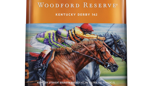 Woodford Reserve&#8217;s Kentucky Derby Bottles are <i>Literally</i> a Work of Art