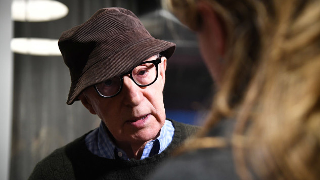 Woody Allen's latest movie has been 'shelved' indefinitely by Amazon