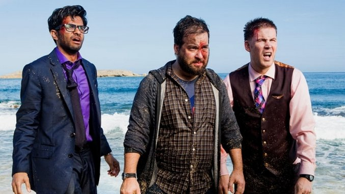 tbs s wrecked is more than just a lost parody comedy features