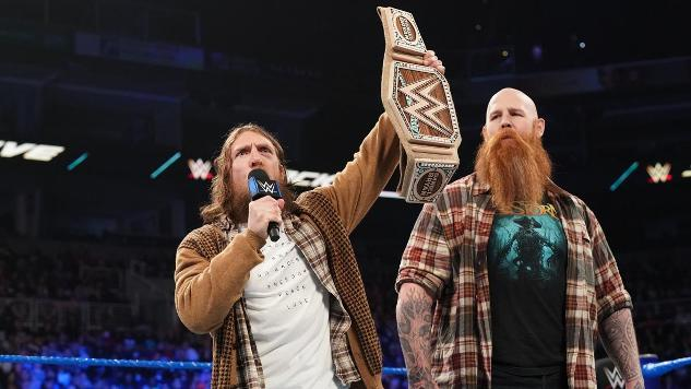 WWE's Environmentalist Bad Guy Introduces a New Sustainable World Title Belt