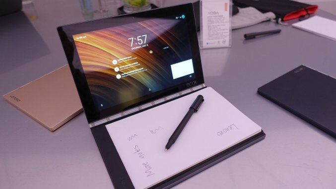 Lenovo Yoga Book and Yoga 910 Hands-on Impressions :: Tech