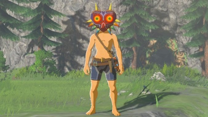 Zelda Breath Of The Wild Guide How To Find Majora S Mask In The New Dlc Paste
