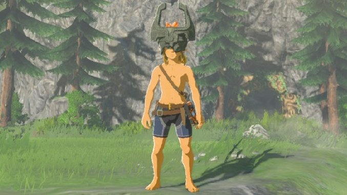 <i>Zelda: Breath of the Wild</i> Guide: How to Find Midna's Helmet in the New DLC