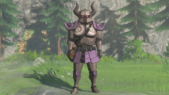 <i>Zelda: Breath of the Wild</i> Guide: How to Find the Phantom Armor