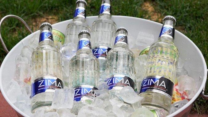 A Millennial Polishes Off a Nice, Crisp Six-Pack of Zima