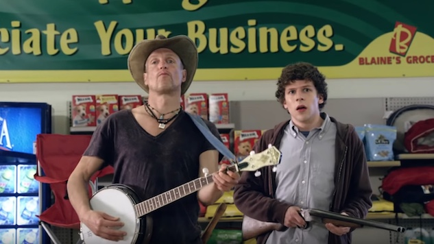 <i>Zombieland</i> Sequel Gets Official Title and Poster, Adds Rosario Dawson