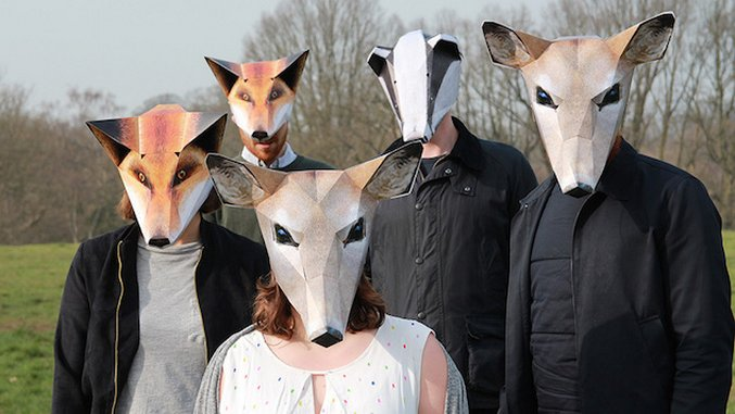 Imagine All The Things You Can Do With These Zoofolds Animal Masks