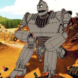 The 40 Best Robots of All Time (Fictional and Real ... Iron Giant Hogarth Tv