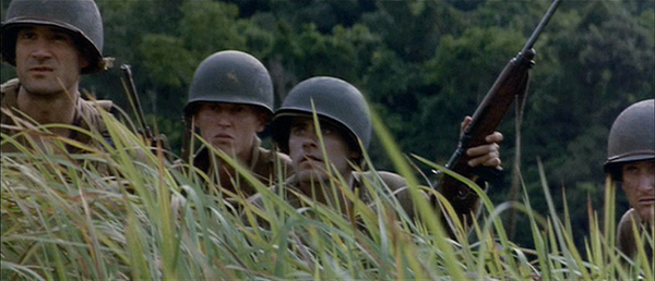 a mirror of the second world war in the movie the thin red line by terrence malick Description: terrence malick's adaptation of james jones' autobiographical 1962 novel, focusing on the conflict at guadalcanal during the second world war.