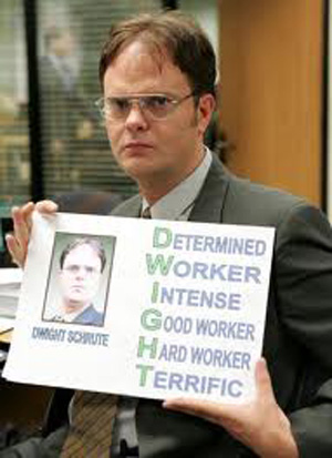 The 30 Best Dwight Schrute Quotes Tv Lists Page 1 Paste