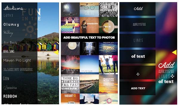 Five Cool Photo-Lettering Apps :: Design :: Paste