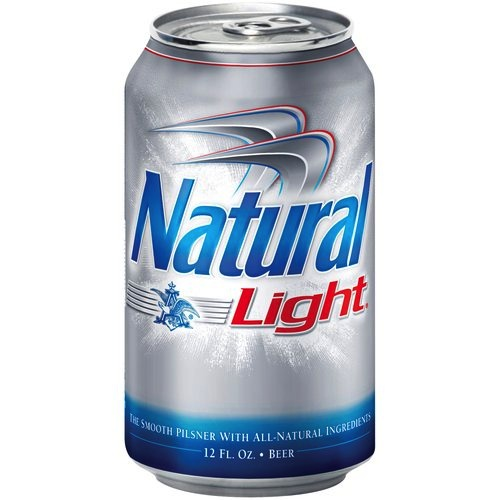 Old Natural Light Beer Cans