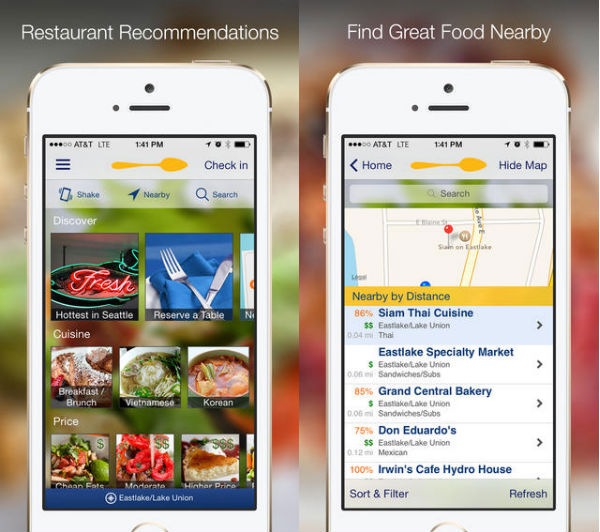 The 10 Best Dining And Restaurant Apps Tech Lists