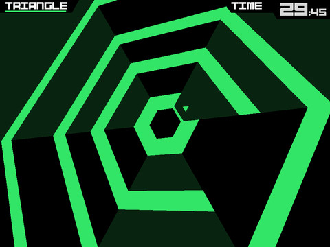Mobile Game of the Week: Super Hexagon (iOS)