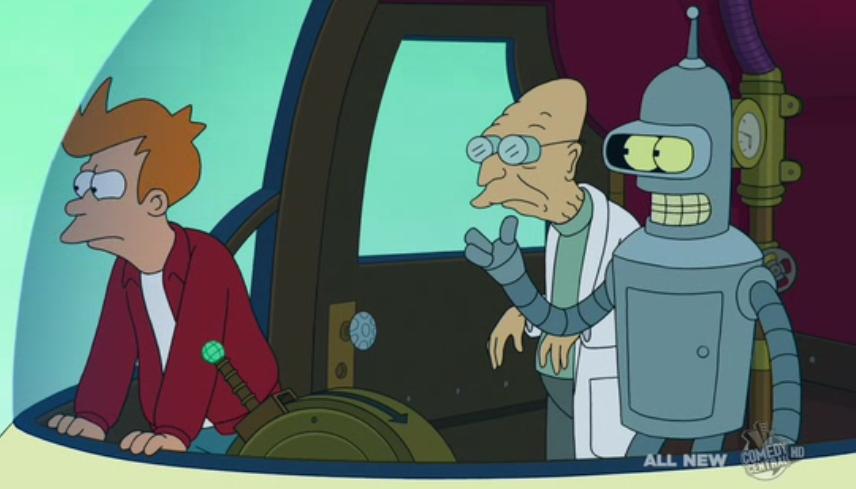 """<em>Futurama</em> Review: """"The Late Philip J. Fry"""" (6.7)"""