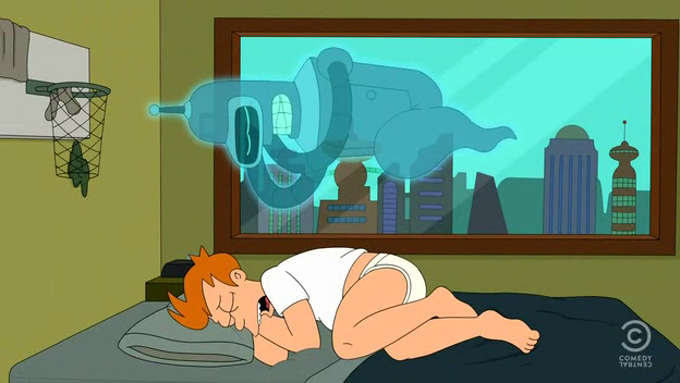 """<em>Futurama</em> Review: """"Ghost in the Machines"""" (6.16)"""